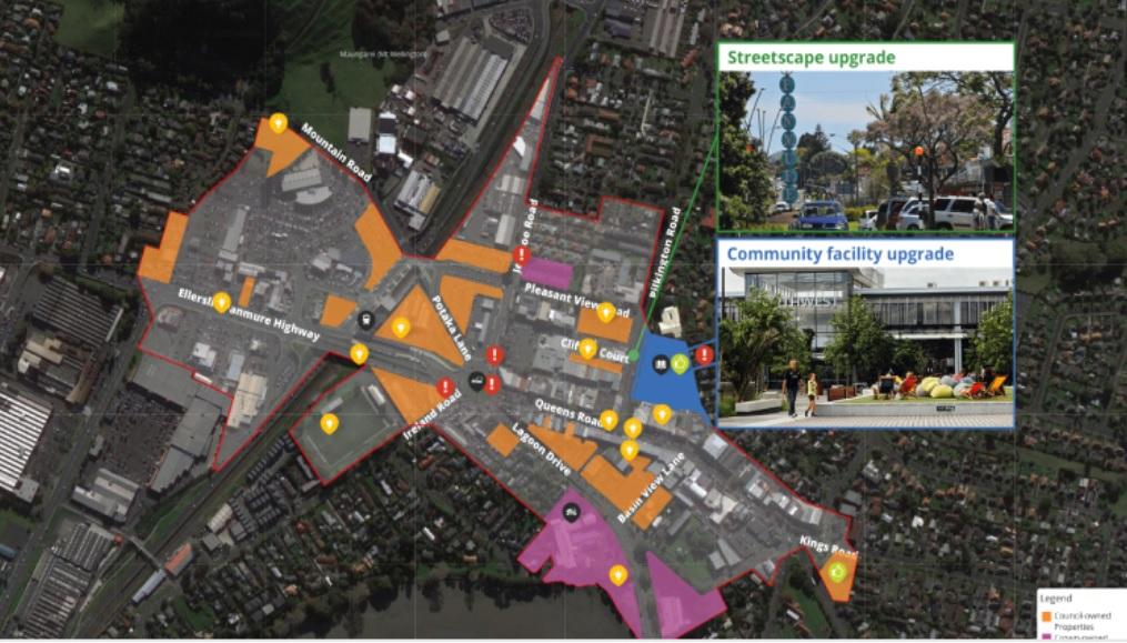 Pukekohe & Panmure Town Centre Regeneration